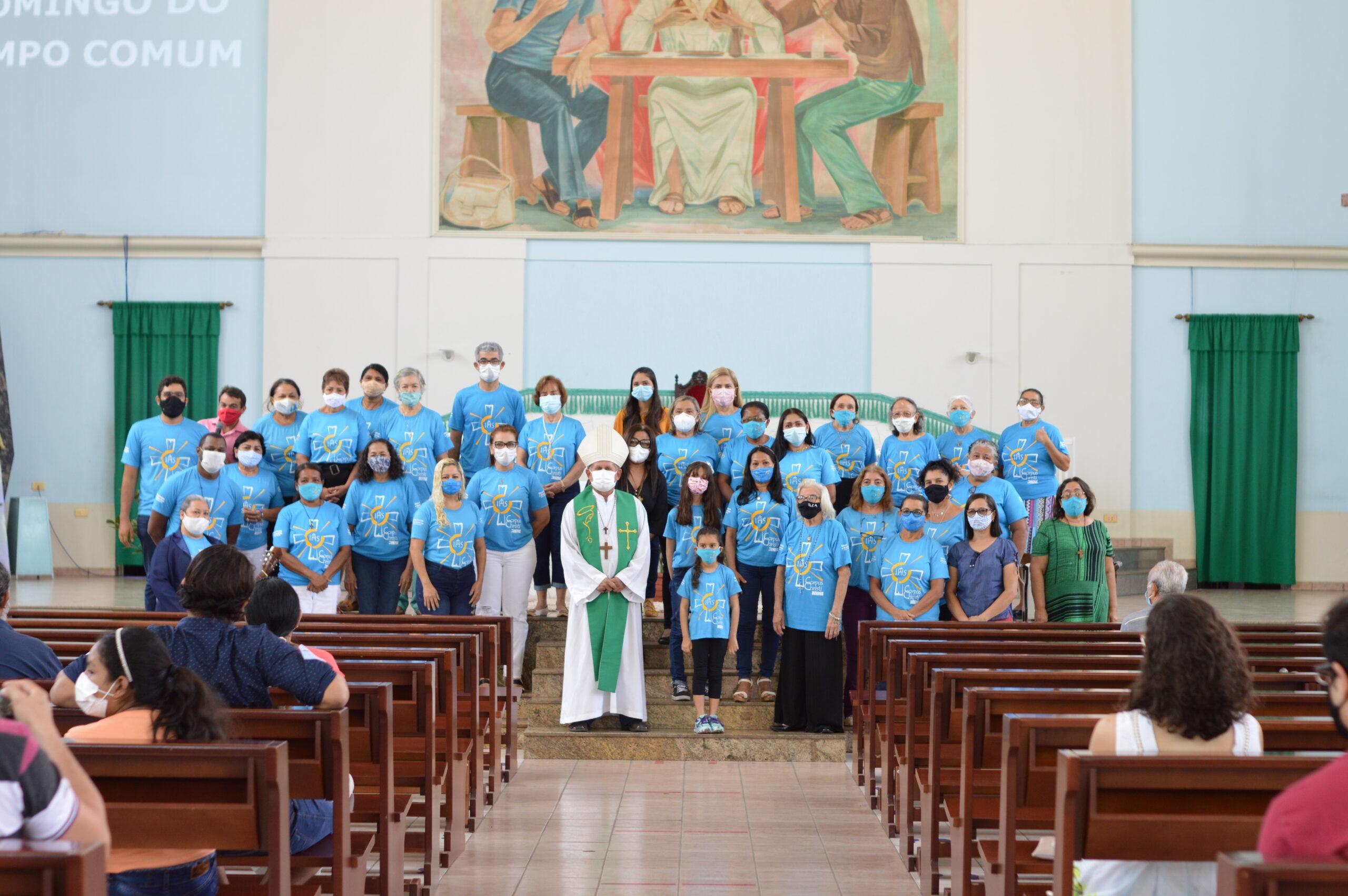 Missionários Digitais em encontro que foi realizado no ultimo domingo (01 de agosto de 2021).
